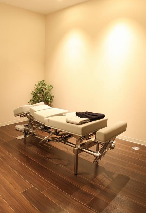施術部屋,完全個室です